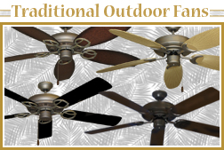 Outdoor Traditional Ceiling Fans