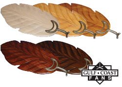 leaf shape wood blades