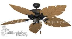 Tropical Raindance Outdoor Ceiling Fan with Venetian